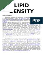 Lipid Density