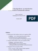 Hans Lundmark- Peakons and shockpeakons