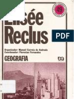RECLUS, Élisée - Geografia - Grandes cientistas sociais