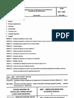 NBR 10842 - 1989 - Equipamento Para Tecnologia da Informação - Requisitos de Segurança