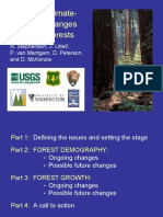 Pervasive Global Warming Changes in Western Forests