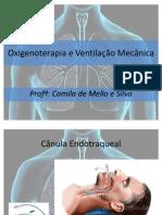 Oxigenoterapia e Ventilação Mecânica