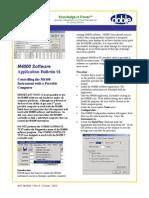 AppNote 1 M4000 Software