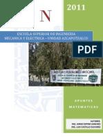 Apuntes Matematicas - 2011