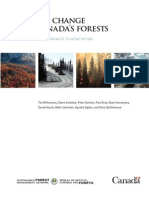 Global Warming and Canada's Forests