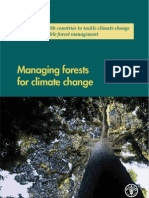 Managing forests for Global Warming