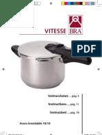 Manual Instrucciones Olla Presion Vitesse