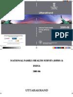 Uttarakhand Report