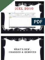 Excel 2010 Presentation