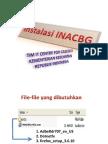 Instalasi INACBG Power Point