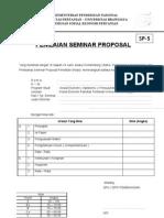 Berita Acara Seminar Proposal