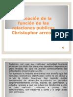 Planeación de la función de las relaciones publicas