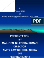 Armed Forces (Special Powers) Act, 1958 - 09.02