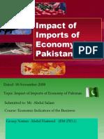 Impact of Imports on Economy