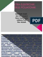 Spektra Elektronik Molekul Poliatomik