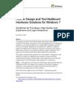 Multi Touch Design Test