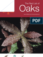 The Red List of Oaks