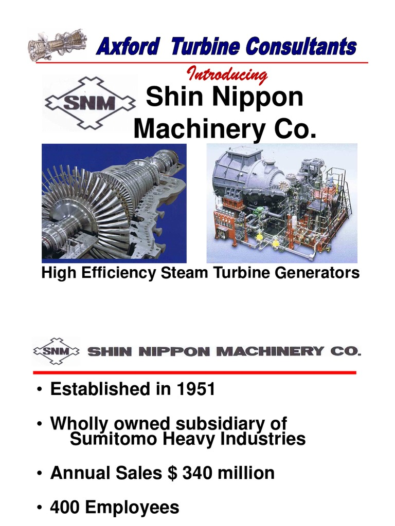 Shin Nippon General Presentation for Americas Feb2011 | Cogeneration