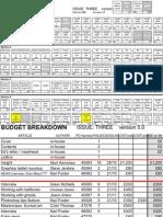 Excel Flat Plan