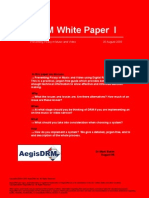 AegisDRM White Paper I - Preventing Piracy in Music and Video