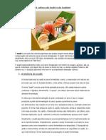 A Cultura Do Sushi e Do Sashimi