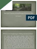 Ayat-Ayat Al-Quran Tentang Menjaga Kelestarian Alam