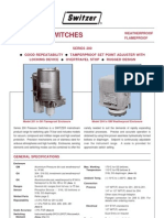 Pressure Switch Series 200