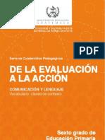 actividades de evaluacion
