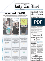The Daily Tar Heel for February 14, 2012