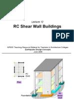L_012_Design of RC (Shear) Walls