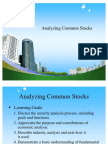 Analyzing Common Stocks PPT @ BEC DOMS