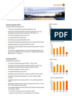 Swedbank's Year End Report 2011