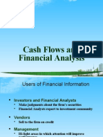 Cash Flows and Financial Anayisis Ppt @ Bec Doms