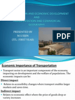 Transportation and Economic Development