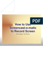 How to Use Screencast-O-matic to Record Screen