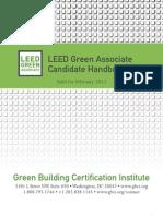 LEED Green Associate Candidate Handbook