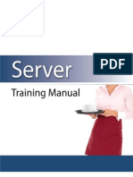 Server Training Manual Restaurant Owner