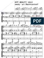 Tchaikovsky Rachmaninoff Sleeping Beauty Duet