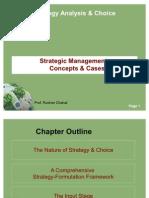 Strategic Management -Concepts & Cases