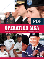 Operation MBA Planner 2012
