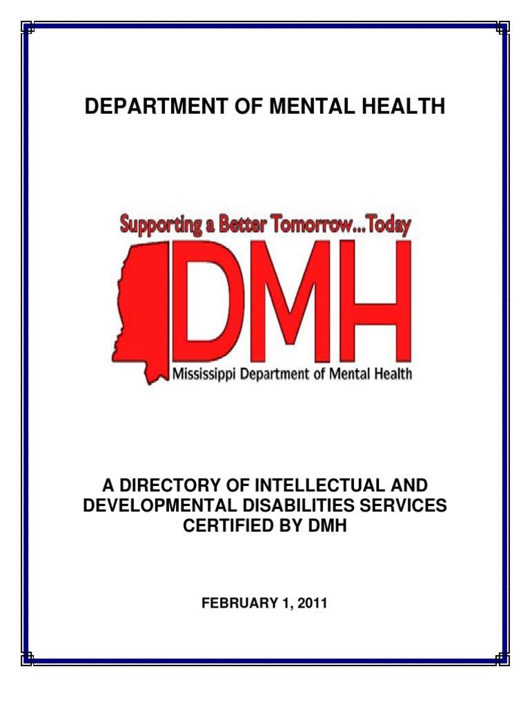 Bidd Resouce Directory 2011 Developmental Disabilities