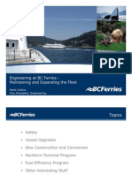 BC Ferries Engineering Presentation Feb 1007