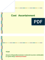 3901803 Cost Ascertainment