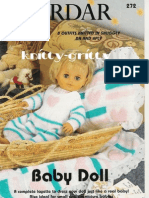 2385129 Knitting Dolls Clothes Booklet Baby Doll