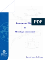 Fundamentos básicos de Metrología Dimensional