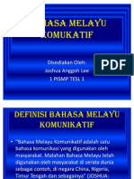 Bahasa Melayu Komukatif