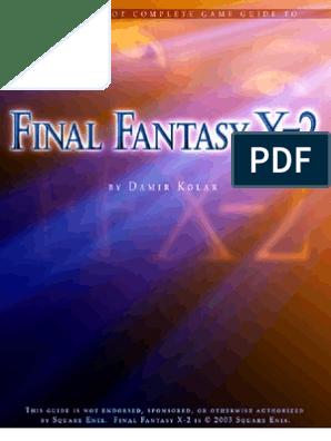 FFX-2 matchmaking dating en veldig intelligent mann