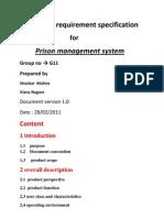 Prison Management System Srs