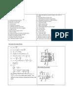 Machine Design Formula List