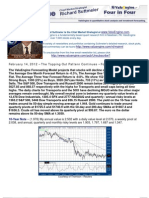 The Topping Out Pattern Continues – Forget Dow 15,000
